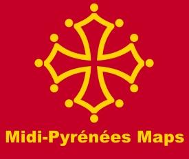 Midi-Pyrénées maps