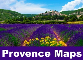 Provence maps
