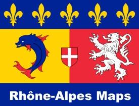 Rhône-Alpes maps