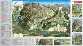Alpe d'Huez bike map