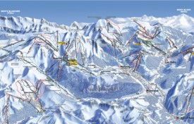 Avoriaz and Morzine ski map