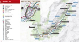 Chamonix bus map