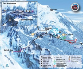 Chamonix Maps France Maps of ChamonixMontBlanc