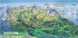 Courchevel bike map