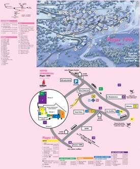 Plagne 1800 map