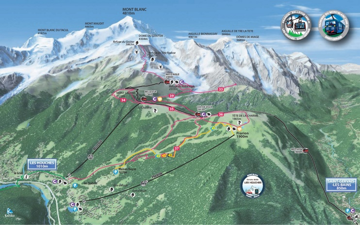 Les Houches summer map