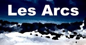 Les Arcs maps