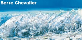 Serre Chevalier piste map