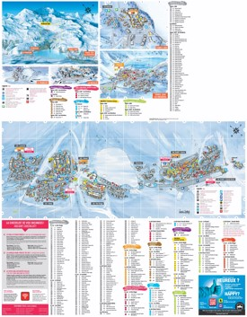 Tignes Maps France Maps of Tignes