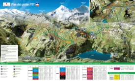 Val-d'Isère bike map