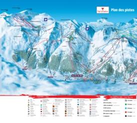 Val-d'Isère piste map