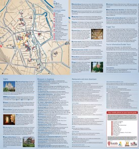 Augsburg tourist attractions map