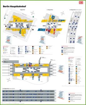 Berlin hauptbahnhof map