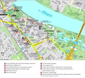Bonn Gronau map