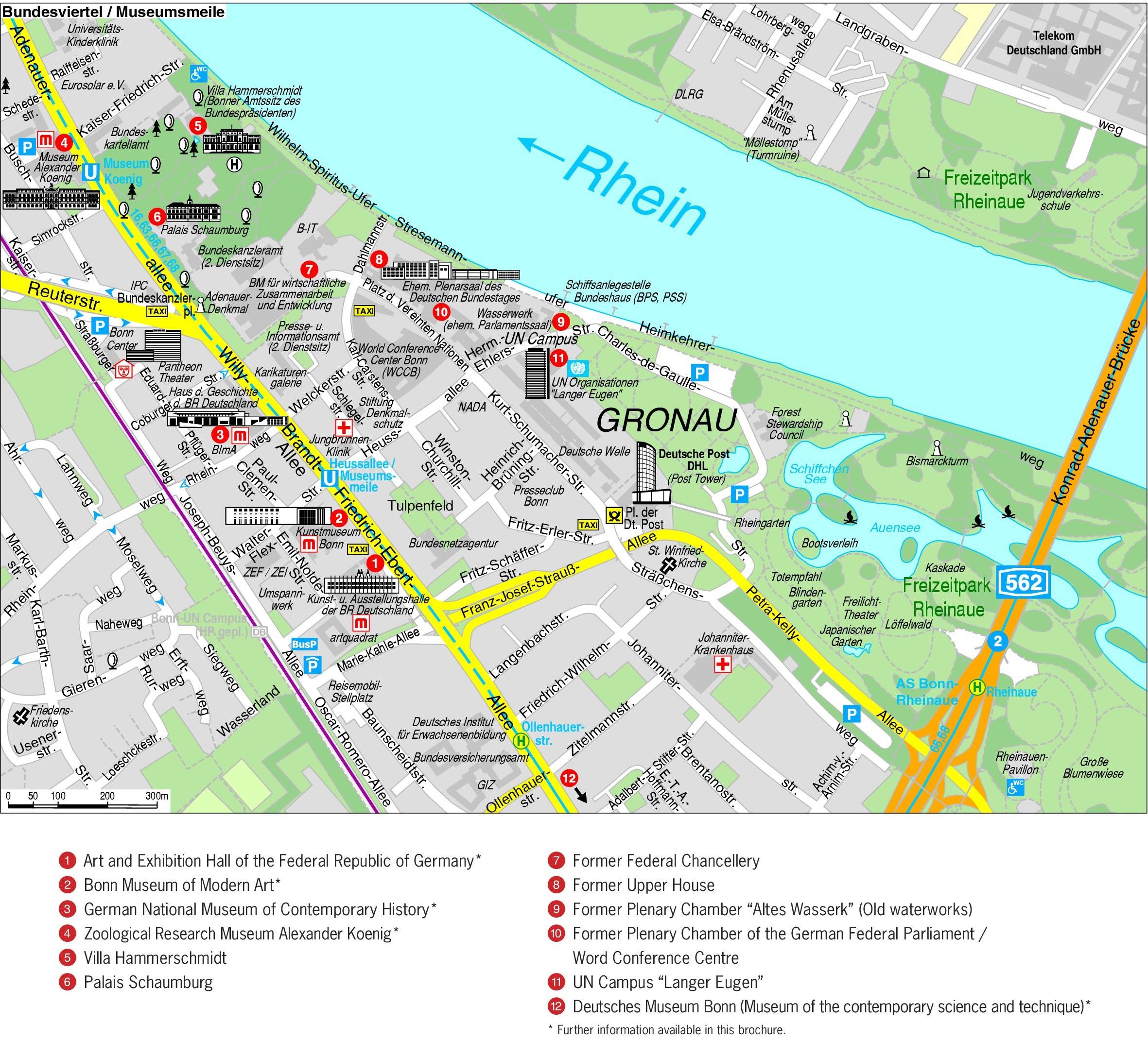 Bonn Maps Germany Maps of Bonn