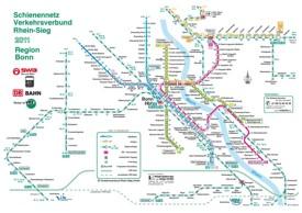 Bonn metro map