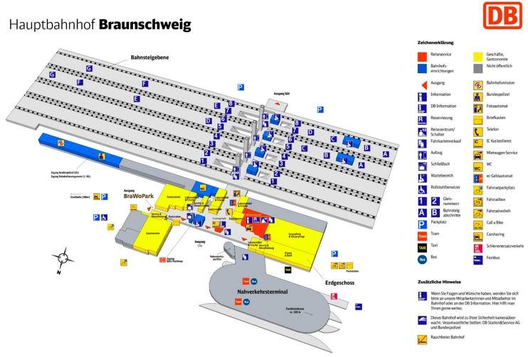 braunschweig hauptbahnhof map. Black Bedroom Furniture Sets. Home Design Ideas