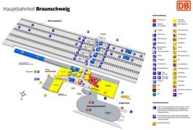 Braunschweig hauptbahnhof map