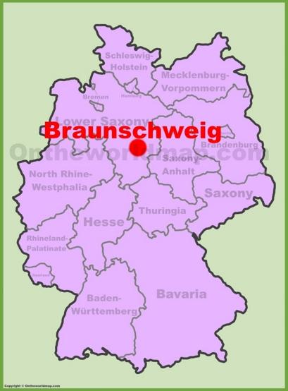 Braunschweig Location Map