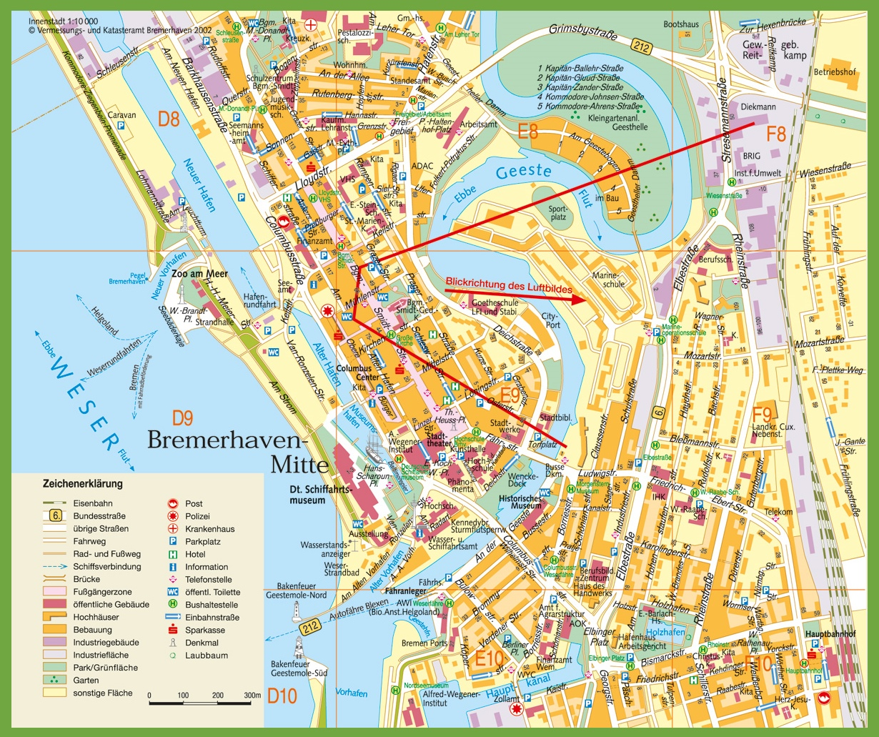 Bremerhaven Maps Germany Maps of Bremerhaven