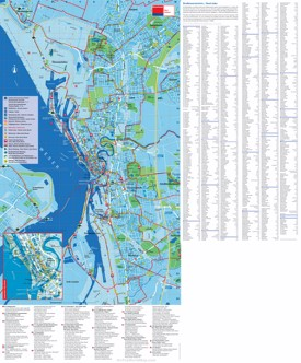 Bremerhaven tourist map