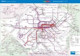 Chemnitz Transport Map