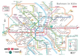 Cologne rail map