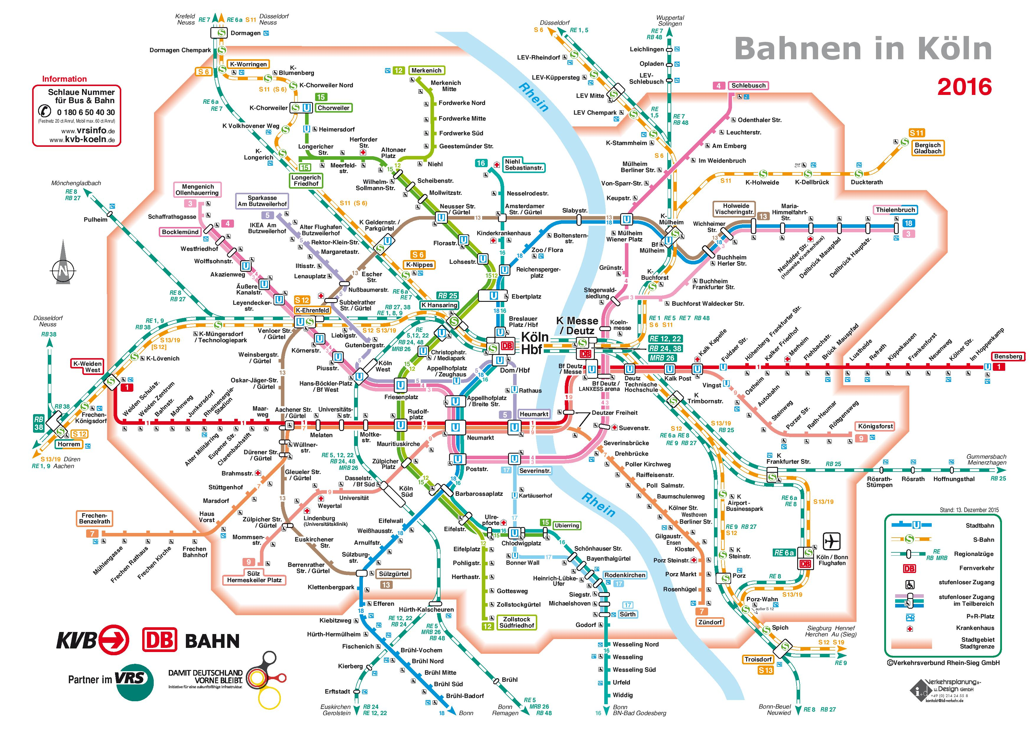 Cologne On Map Of Germany.Cologne Rail Map