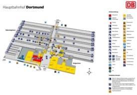 Dortmund hauptbahnhof map