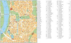 Düsseldorf street map