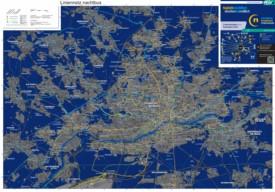 Frankfurt night transport map