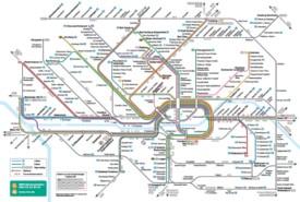 Frankfurt transport map