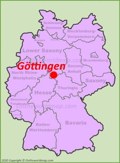 Göttingen Location Map