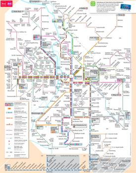 Halle (Saale) Tram and Bus Map