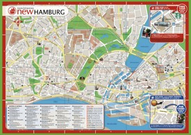 Hamburg hotel map