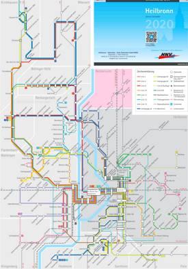 Heilbronn Transport Map