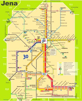 Jena transport map
