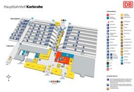 Karlsruhe hauptbahnhof map