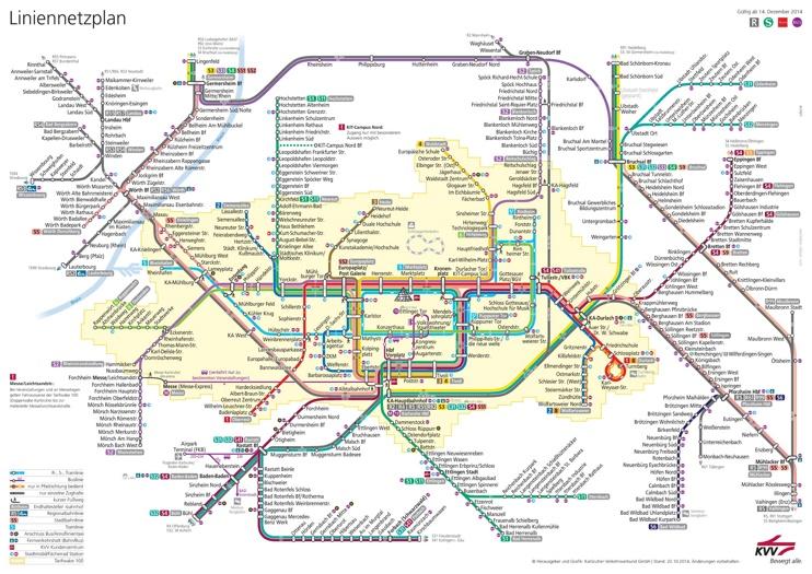 Karlsruhe S Bahn Plan