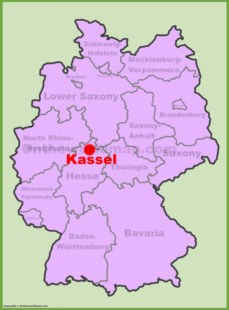 Kassel Maps Germany Maps of Kassel