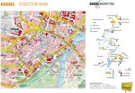 Kassel tourist map