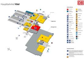 Kiel hauptbahnhof map