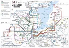 Kiel transport map