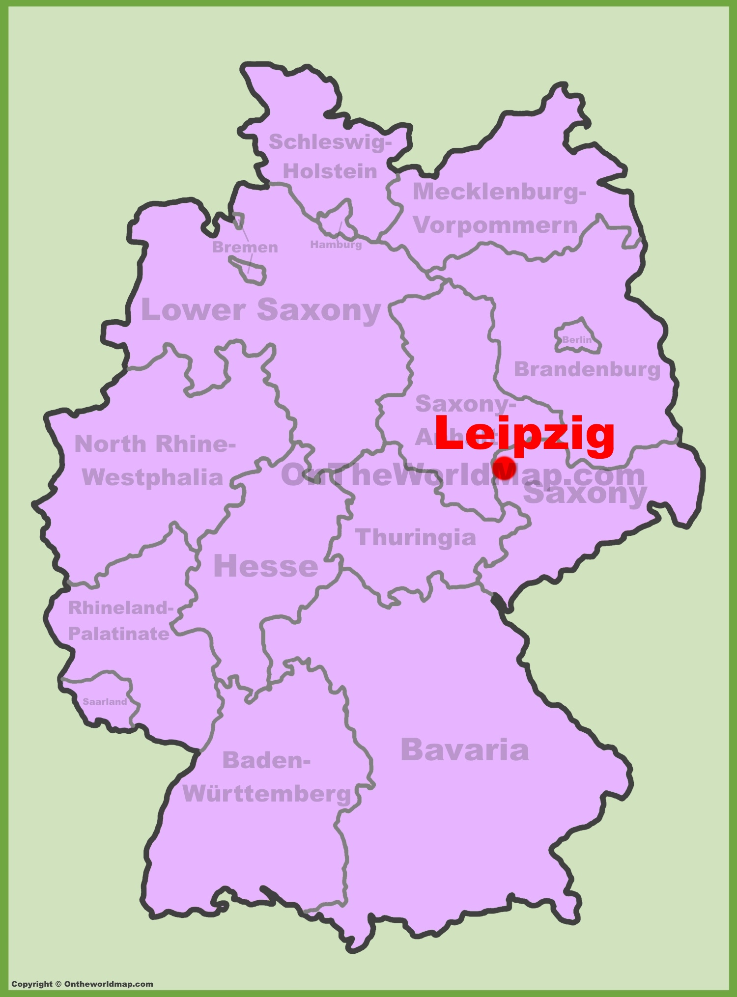 Leipzig location on the Germany map on garmisch germany on map, auschwitz germany on map, osnabruck germany on map, schwangau germany on map, aachen germany on map, fussen germany on map, darmstadt germany on map, berchtesgaden germany on map, oldenburg germany on map, augsburg germany on map, marburg germany on map, grafenwoehr germany on map, bremen germany on map, rothenburg germany on map, karlsruhe germany on map, amsterdam germany on map, landstuhl germany on map, kiel germany on map, luneburg germany on map, kaiserslautern germany on map,