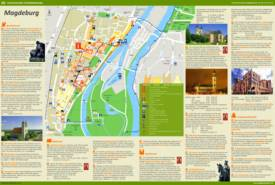 Magdeburg Tourist Map