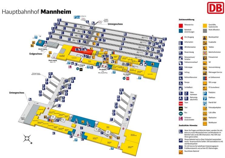 mannheim hauptbahnhof map. Black Bedroom Furniture Sets. Home Design Ideas