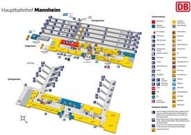 Mannheim hauptbahnhof map