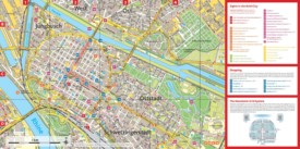 Mannheim tourist attractions map