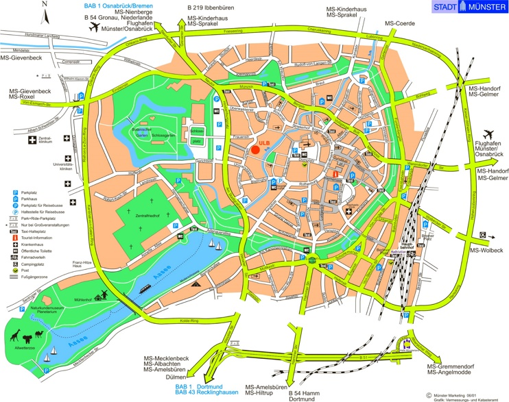 m u00fcnster tourist map