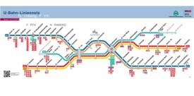 Nürnberg metro map